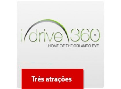 I-Drive 360: Madame Tussauds, SEA LIFE E Icon Orlando 360